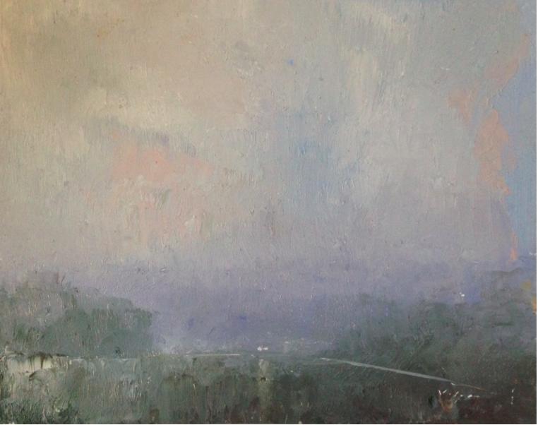 En Route (Rain)