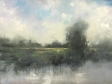 Silver Marsh, 16x24