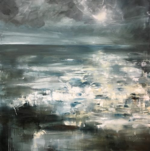 Oceanic (Moonlight), 48x48