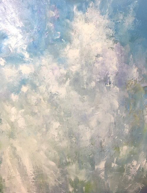Sea Spray Seen as a Bouquet 30x24