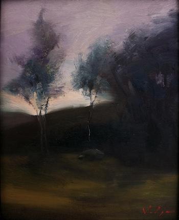 Hillside Moonrise