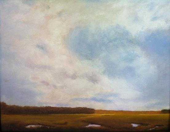 marsh cloudscape
