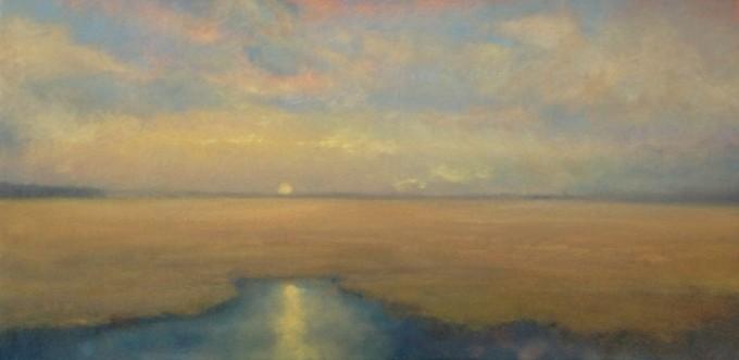 Moonrise Over the Marsh