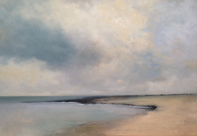 A Quiet Shoreline (Painting for the Wentworth Hotel)
